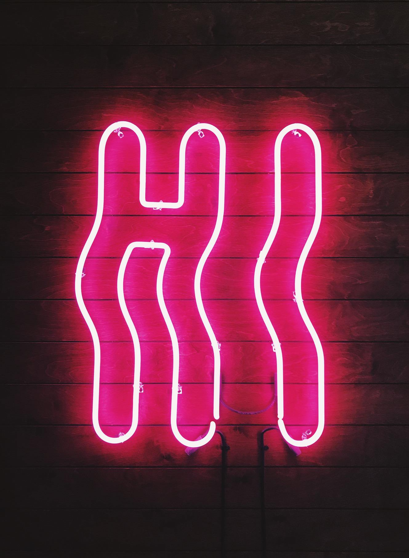 Trendy Neon Wallpapers For iPhone