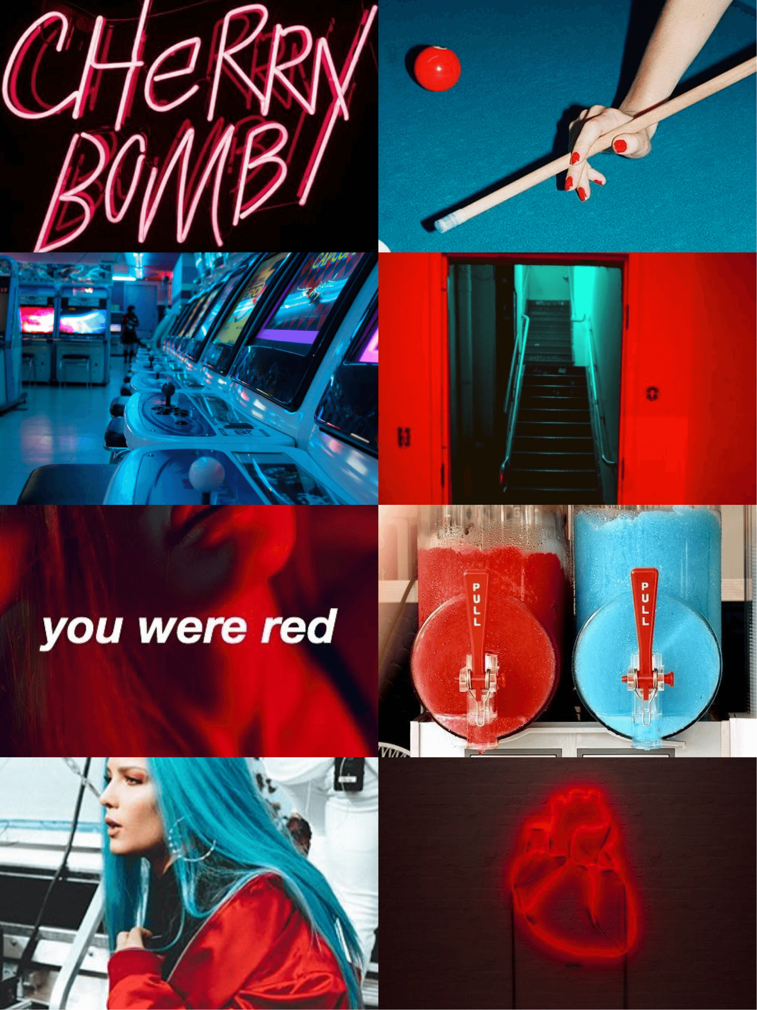Aesthetic Neon Wallpapers Red