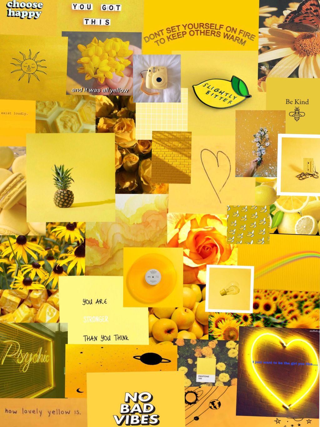 Yellow Aesthetic Backgrounds posted by Sarah Simpson