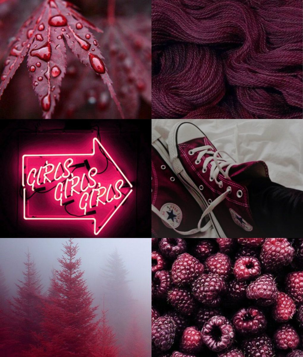 Maroon Aesthetic made by my friend
