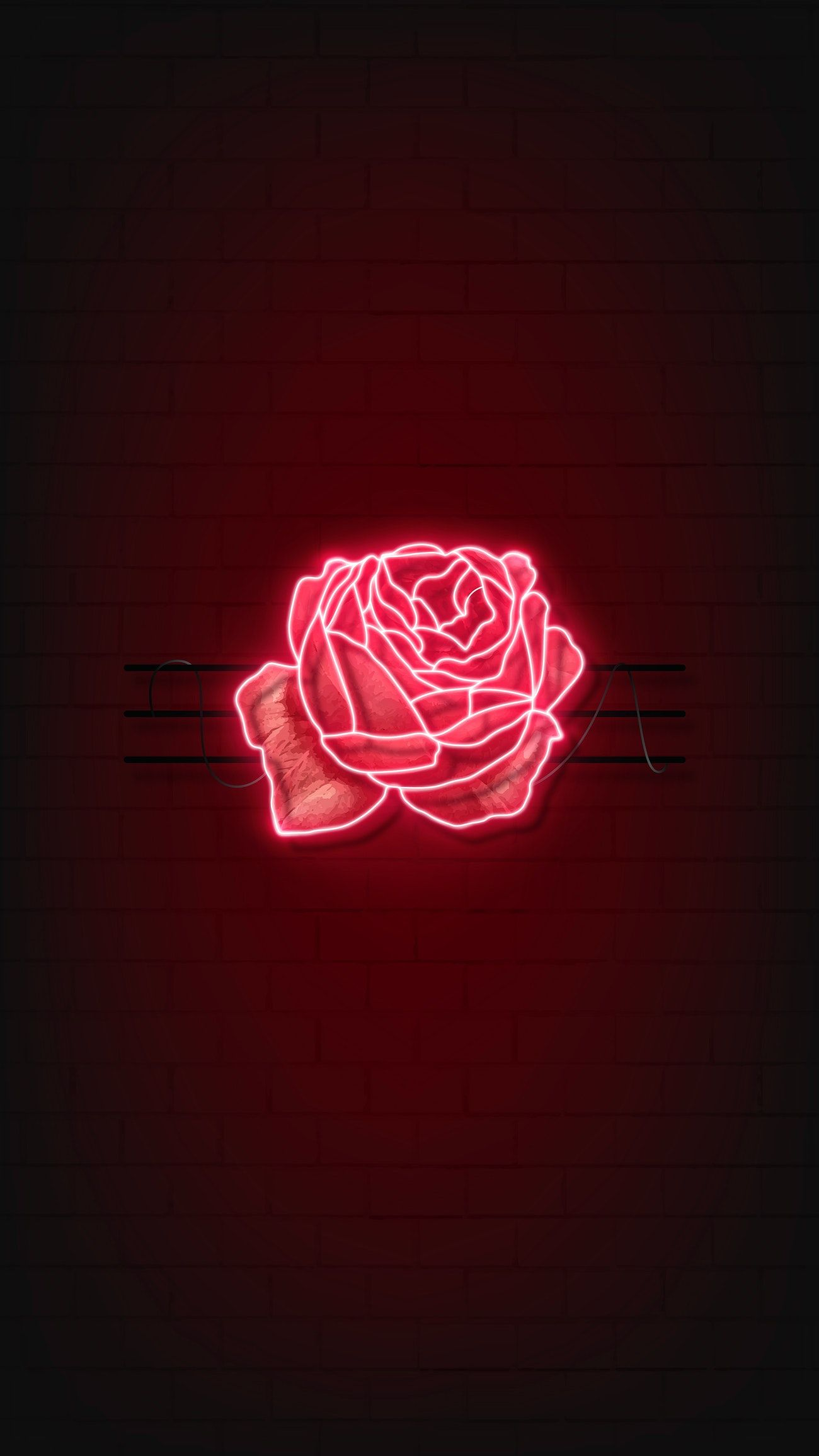 Rose Aesthetic Wallpapers 1300×2311
