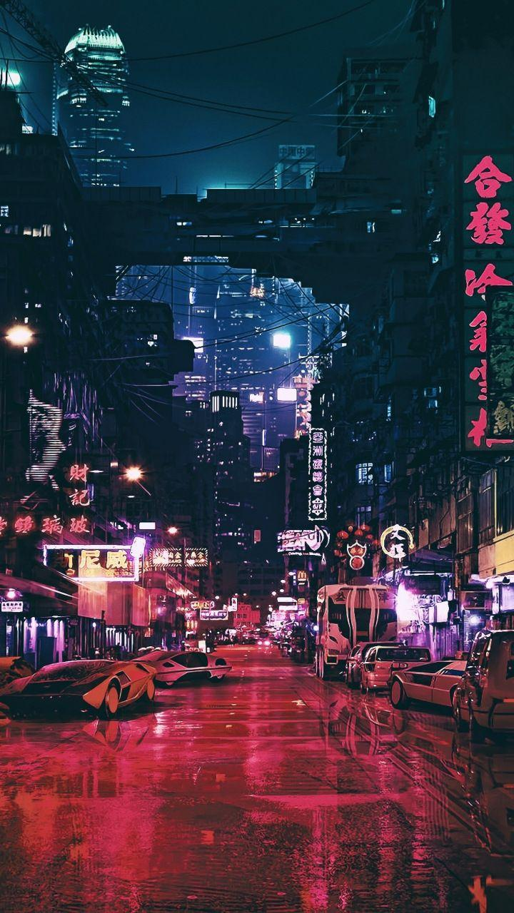 Aesthetic Anime City Wallpapers