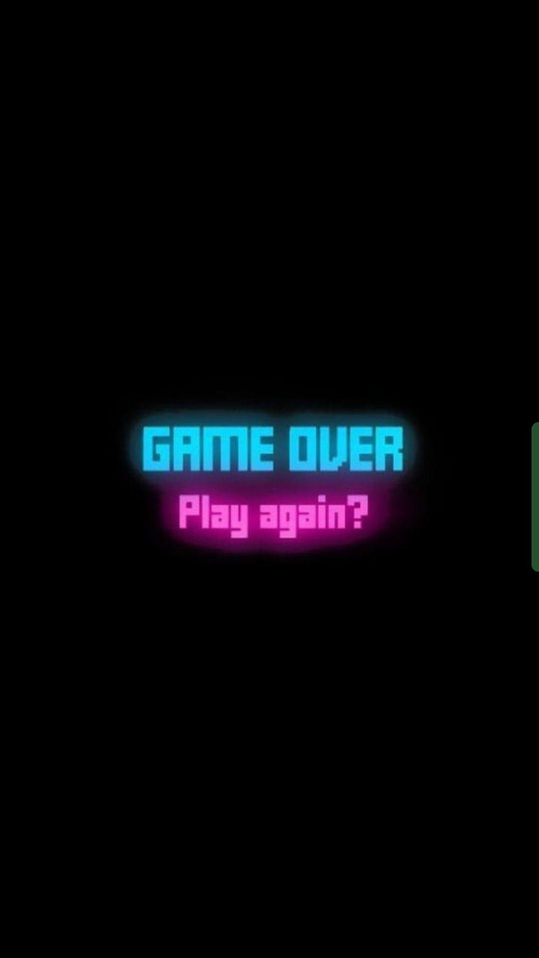 Game Over Aesthetic Wallpapers
