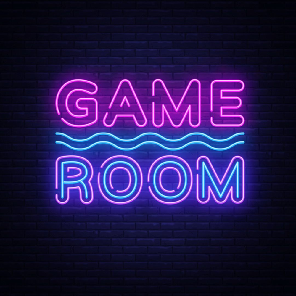 Game Room Text LED Neon Sign in 2020