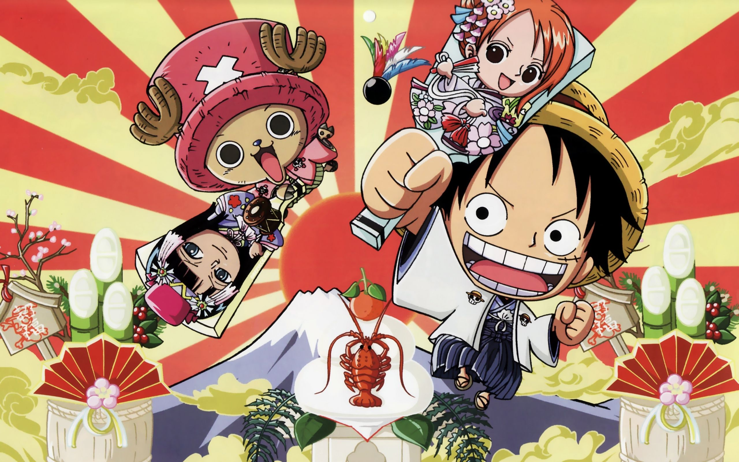 One Piece Chibi Wallpapers
