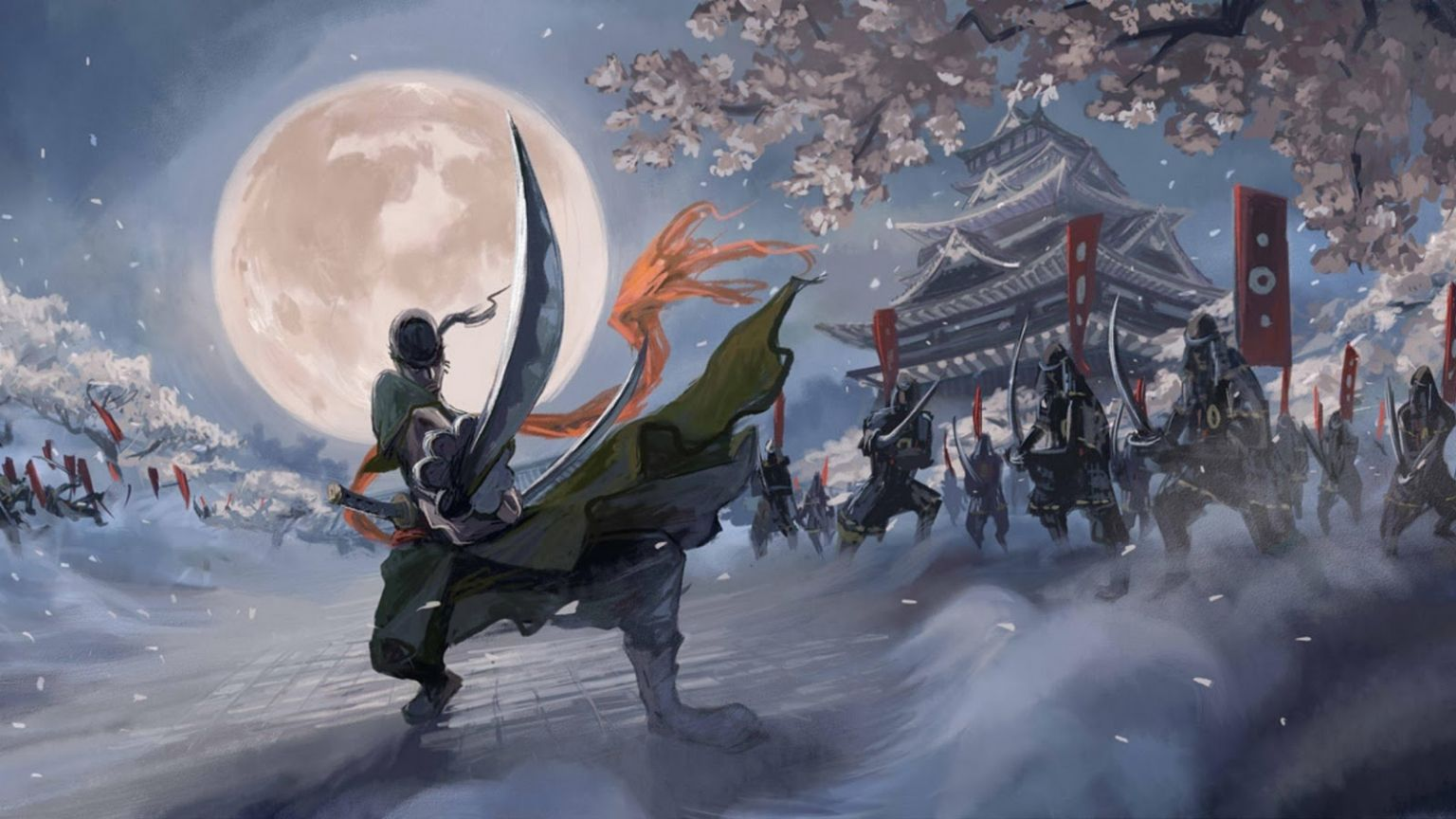 Free download Roronoa Zoro Samurai One Piece 24 Wallpapers HD [1600x900] for your Desktop, Mobile & Tablet