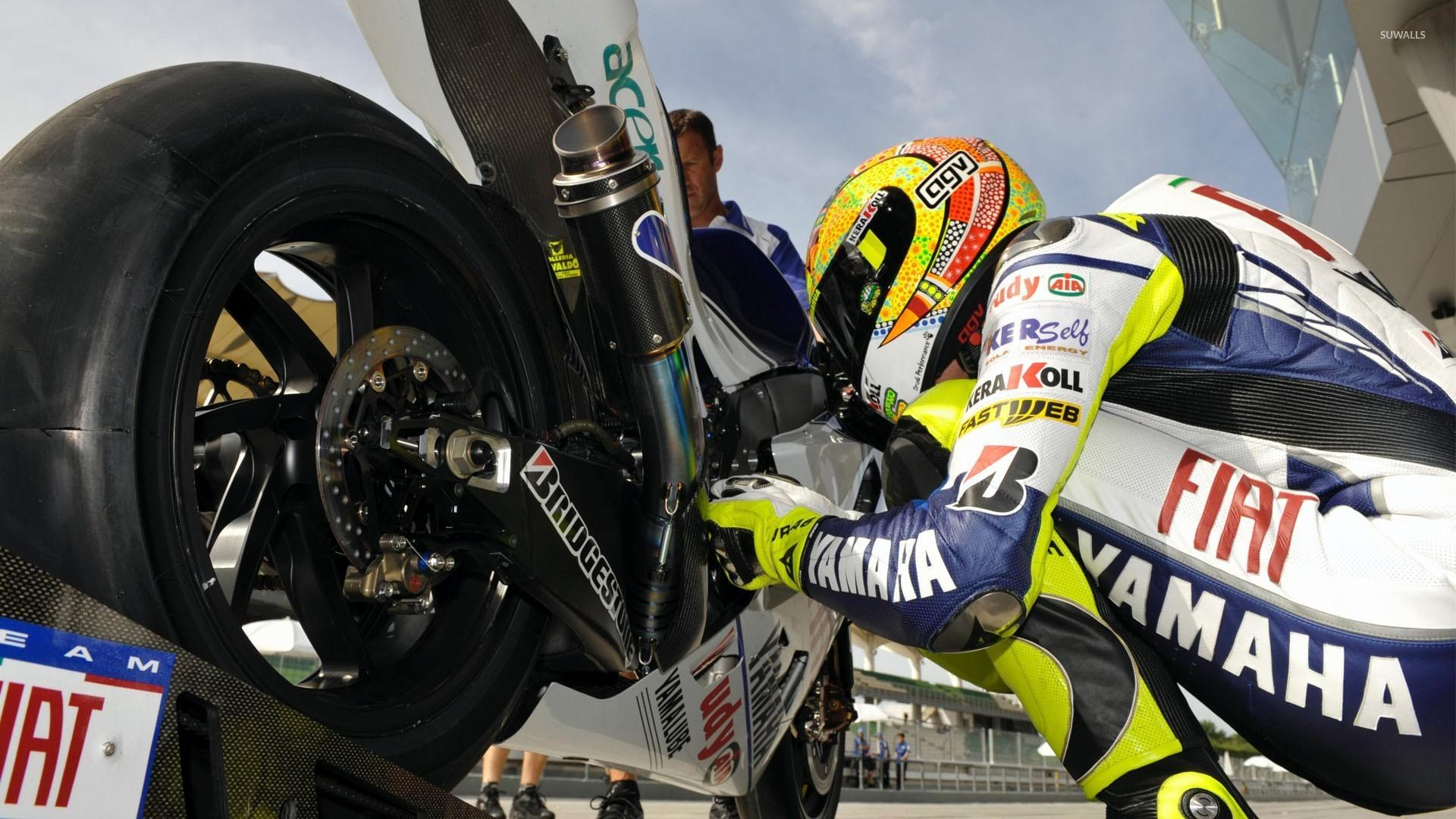 Valentino Rossi [3] wallpapers