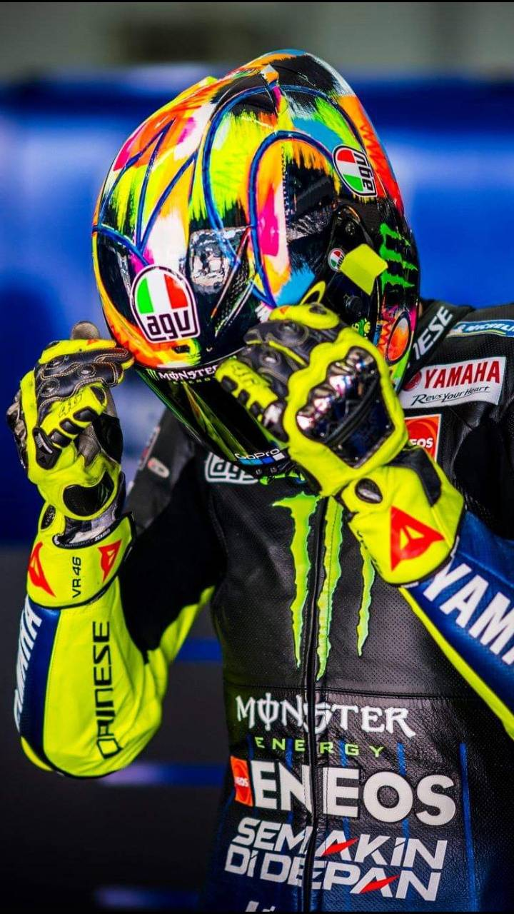 Valentino Rossi 2019 wallpapers by Rmz93