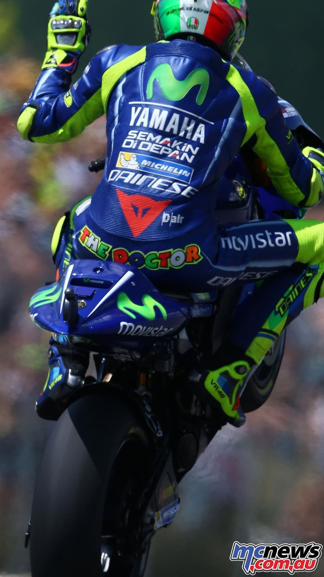 Valentino Rossi iPhone Wallpapers Free Download