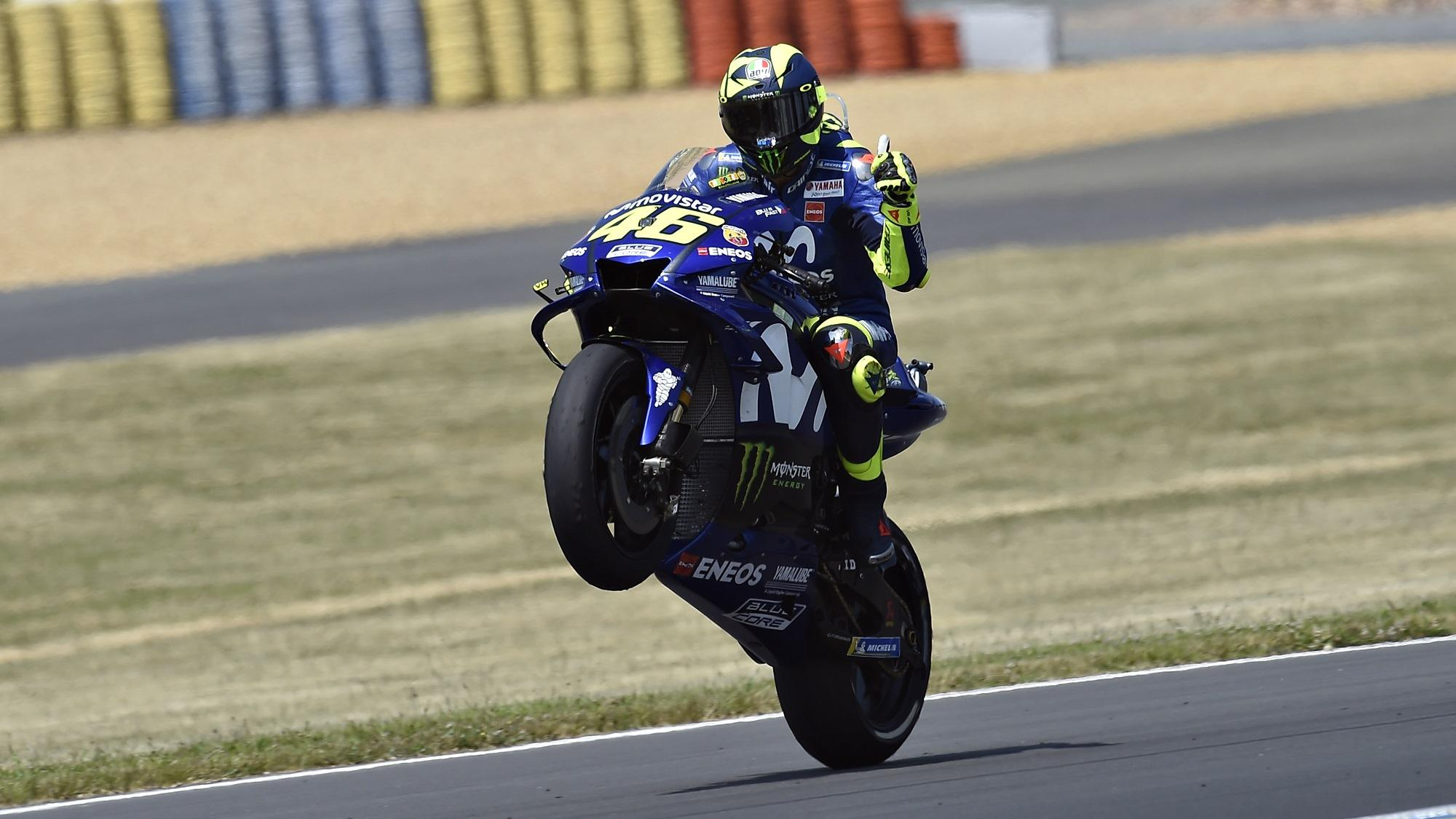 Valentino Rossi HD wallpapers MotoGP Le Mans