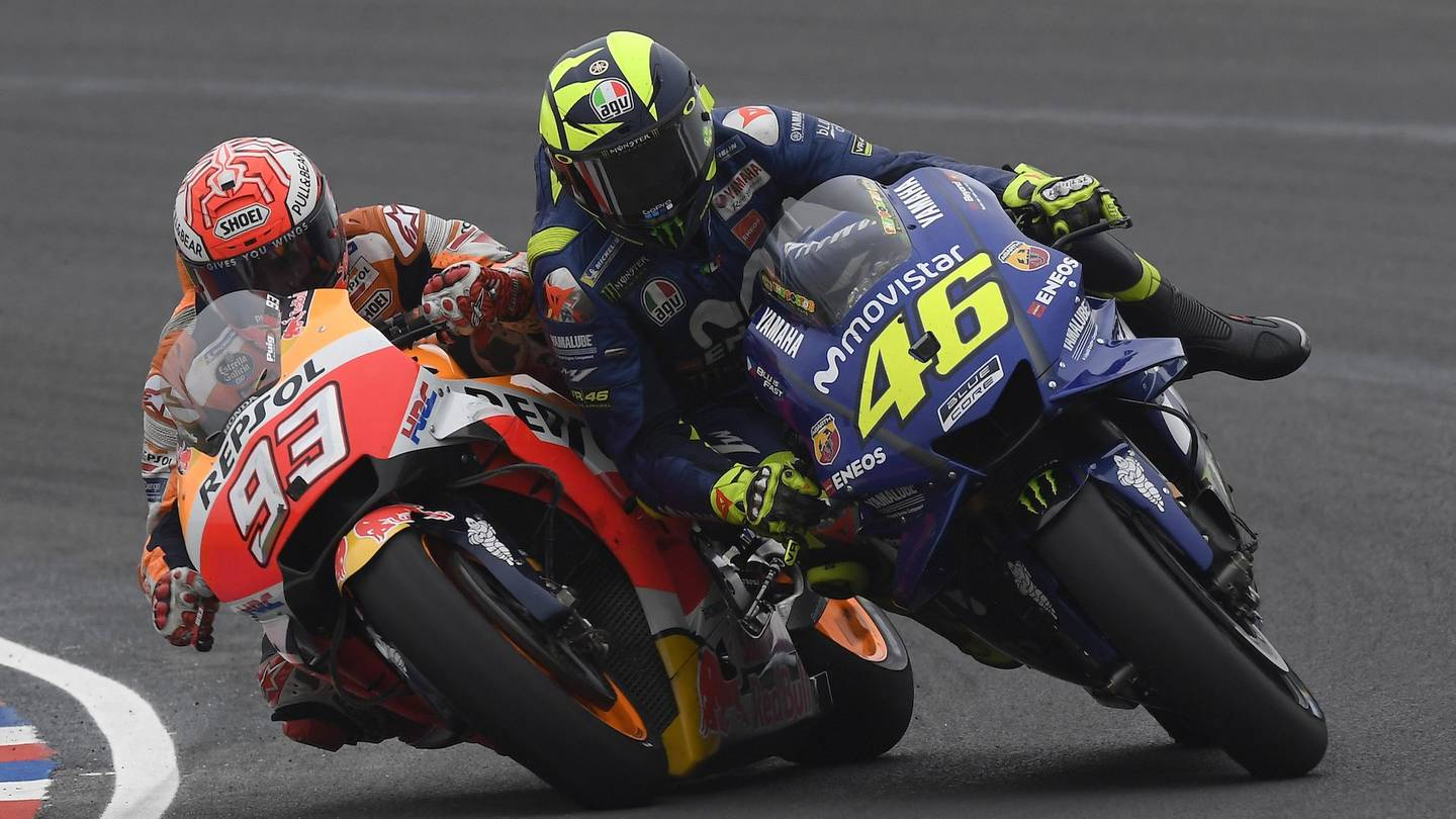 MotoGP's Valentino Rossi is 'Scared' of Marc Marquez's Riding Style