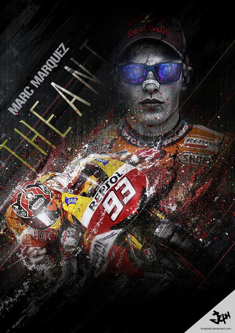 Marc Marquez Moto GP The Ant by tmaclabi