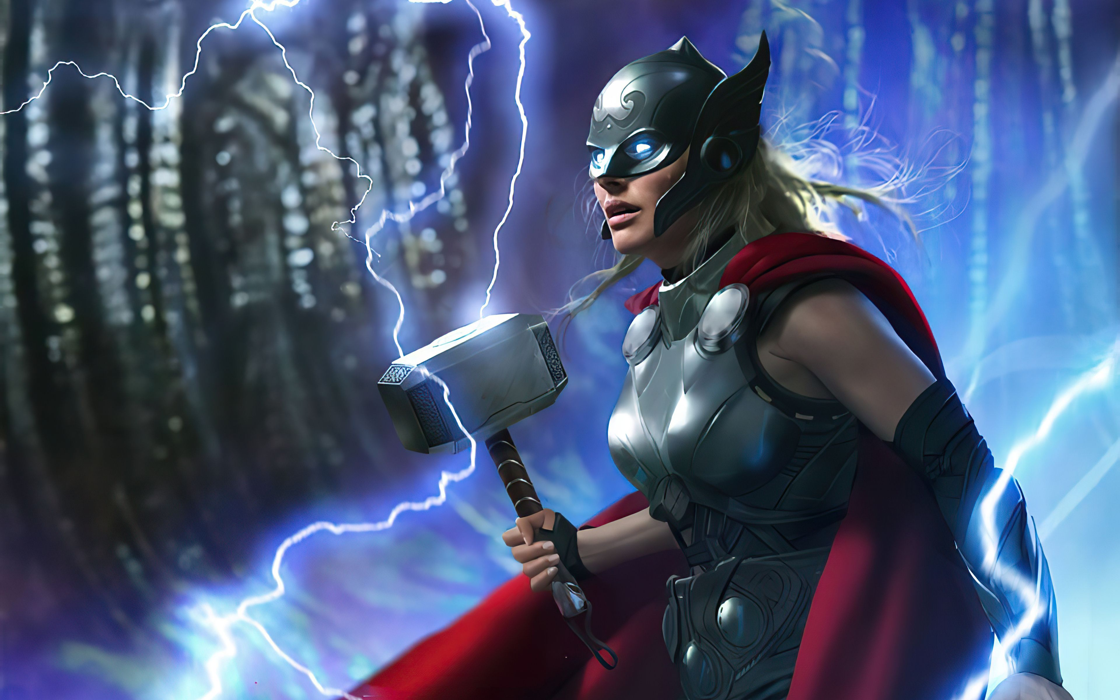 3840x2400 Jane Foster Thor 2021 4K 4k HD 4k Wallpapers, Image, Backgrounds, Photos and Pictures