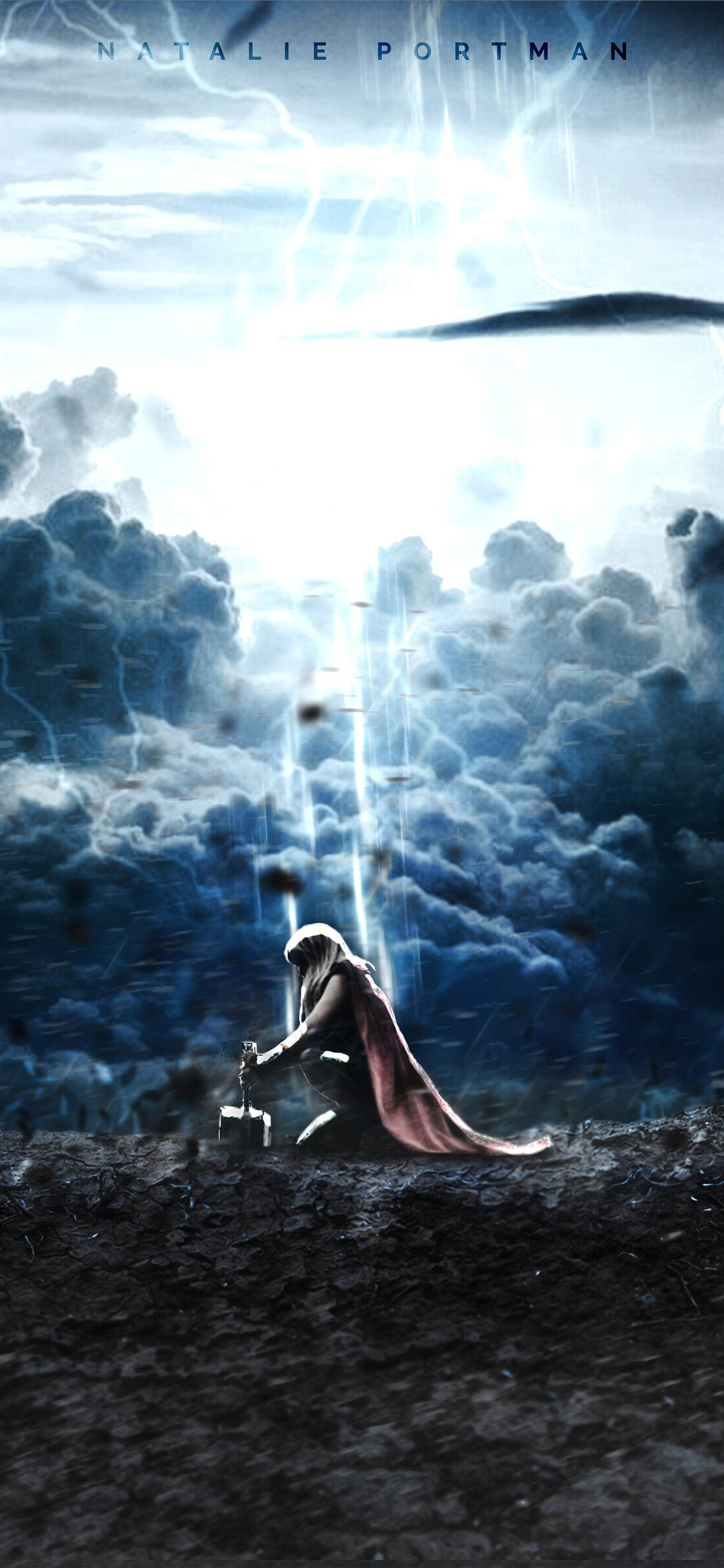 lady thor love and thunder 4k iPhone 11 Wallpapers Free Download