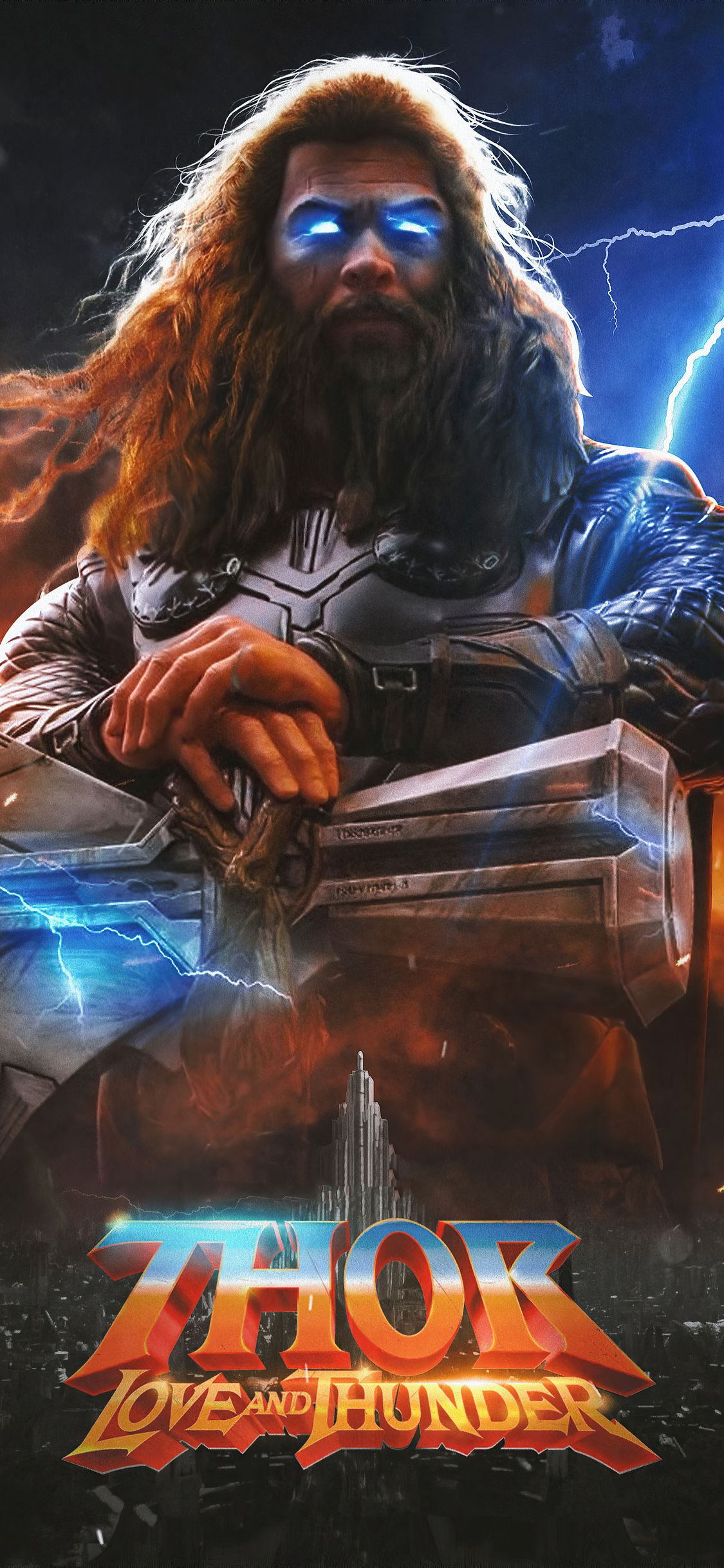 1125x2436 Thor Love And Thunder 2021 Movie Iphone XS,Iphone 10,Iphone X HD 4k Wallpapers, Image, Backgrounds, Photos and Pictures