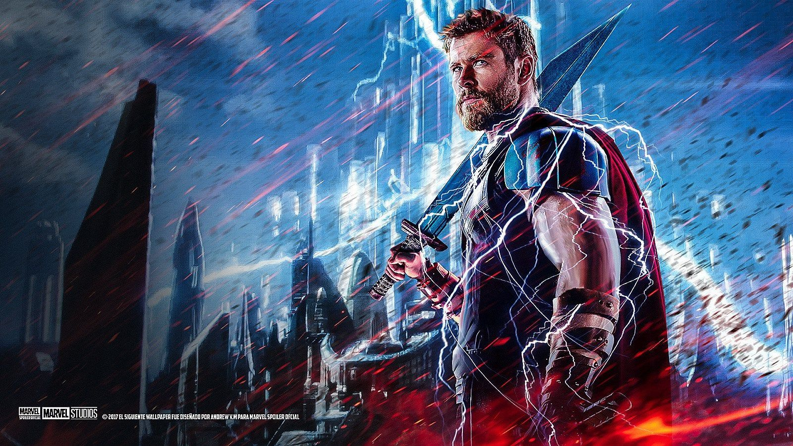 My favourite thor wallpaper. : Marvel