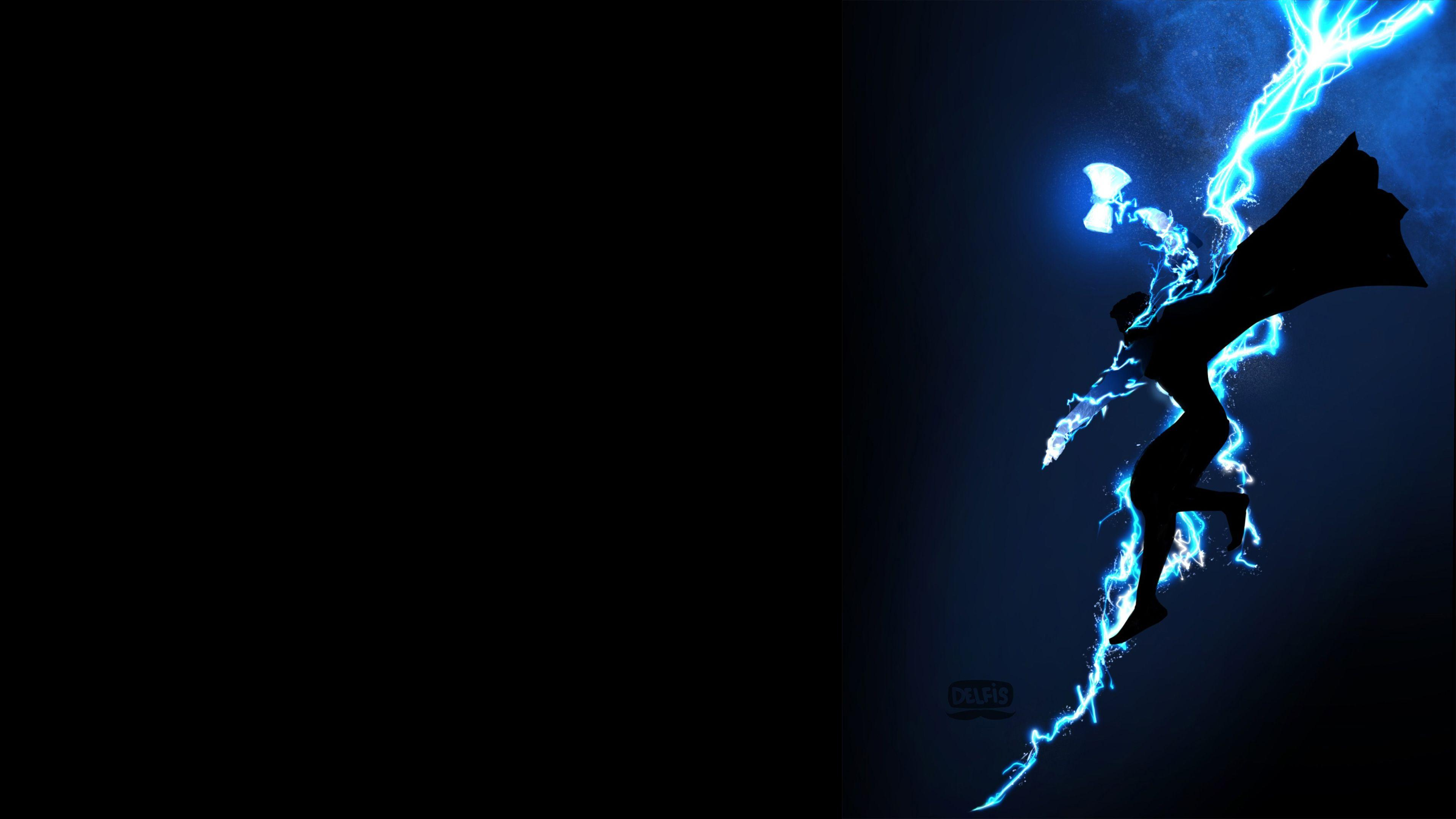 Thor God Of Thunder 4K thor wallpapers, superheroes wallpapers, hd