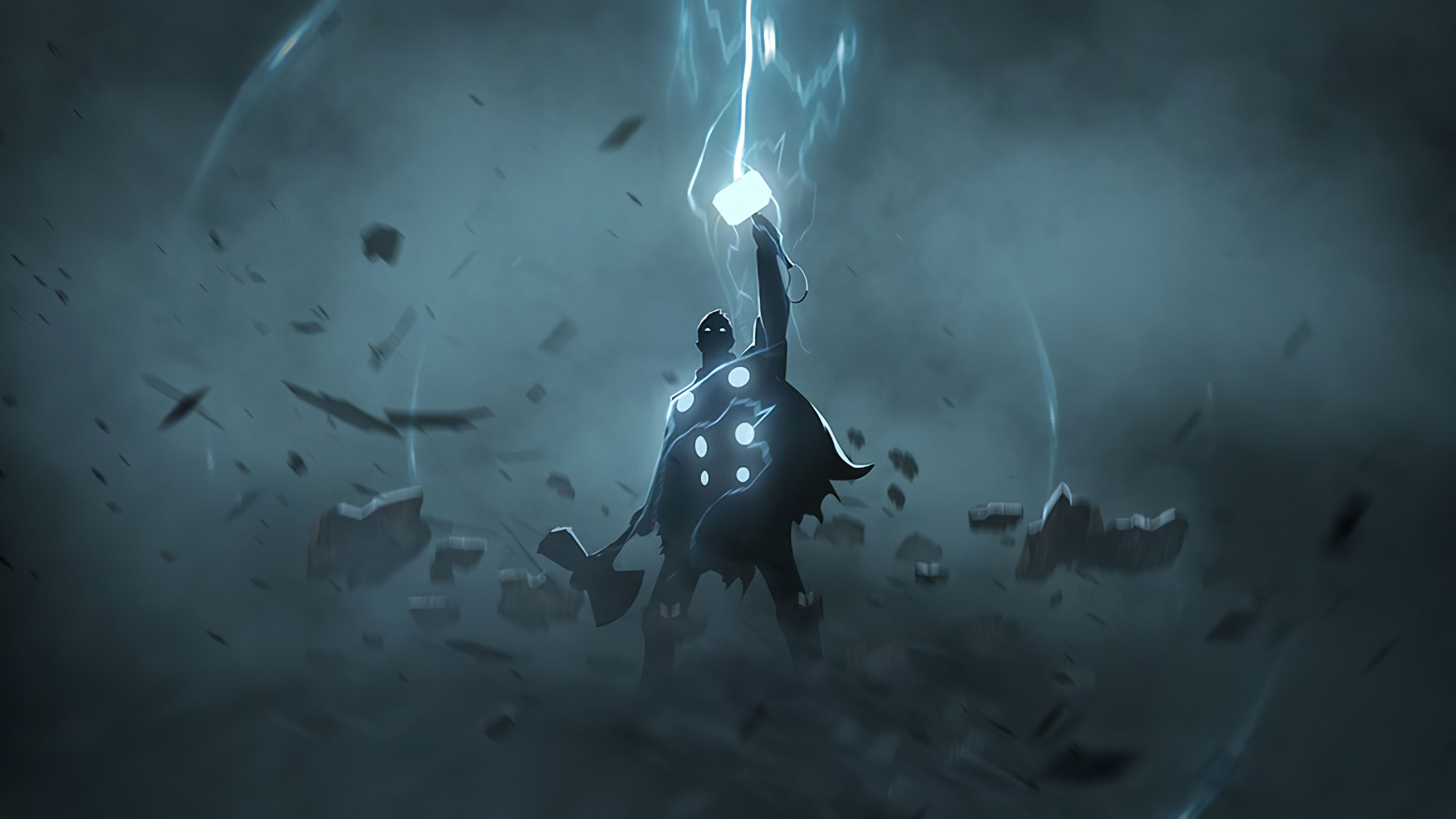 Thor Artwork 4k 2020, HD Superheroes, 4k Wallpapers, Image, Backgrounds, Photos and Pictures