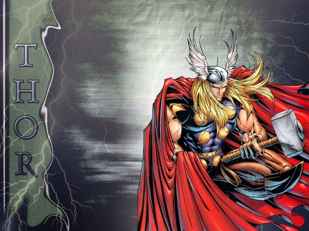 Wallpapers For > Thor Comic Wallpapers Hd