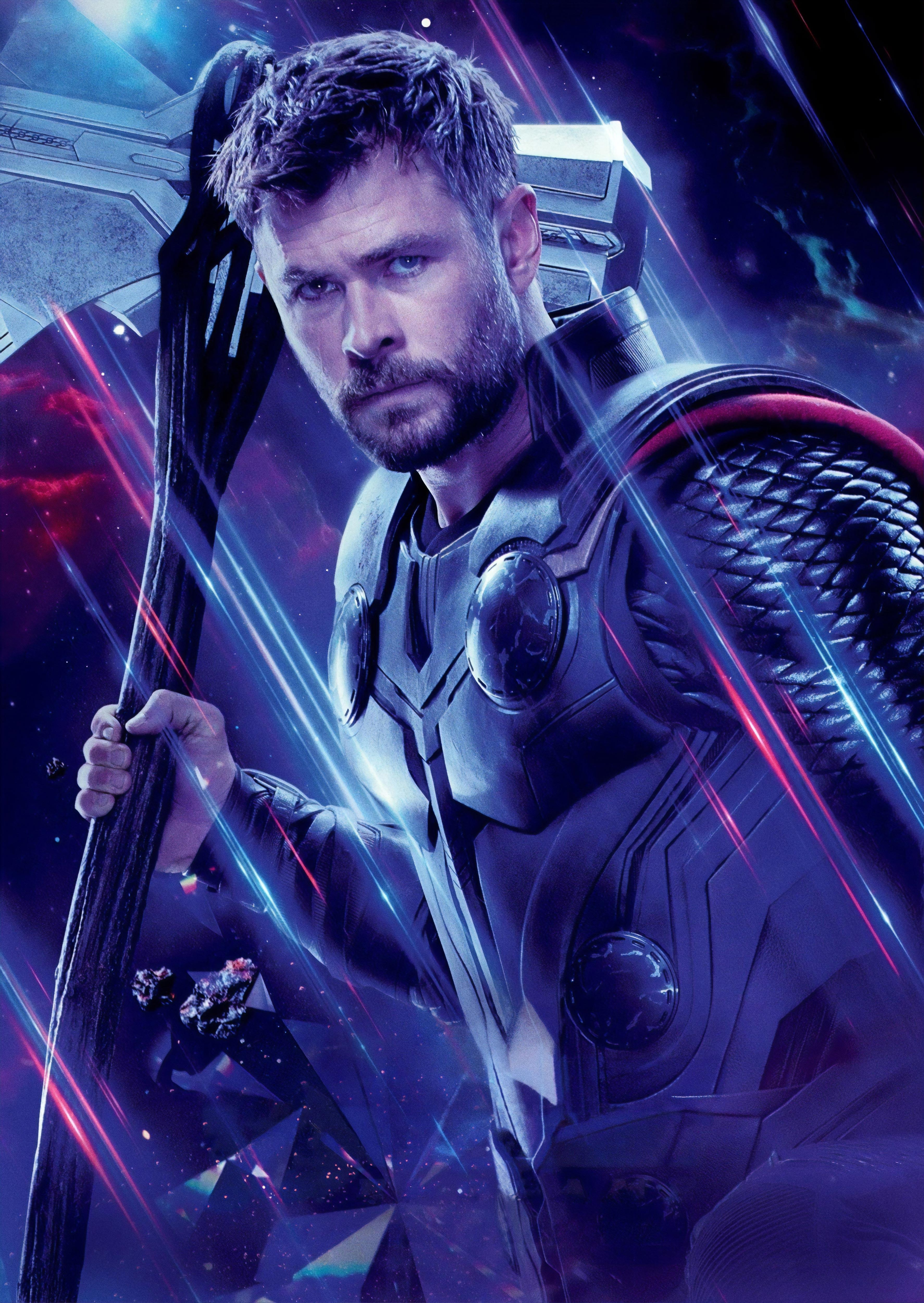 Thor in Avengers Endgame Wallpaper, HD Movies 4K Wallpapers, Image