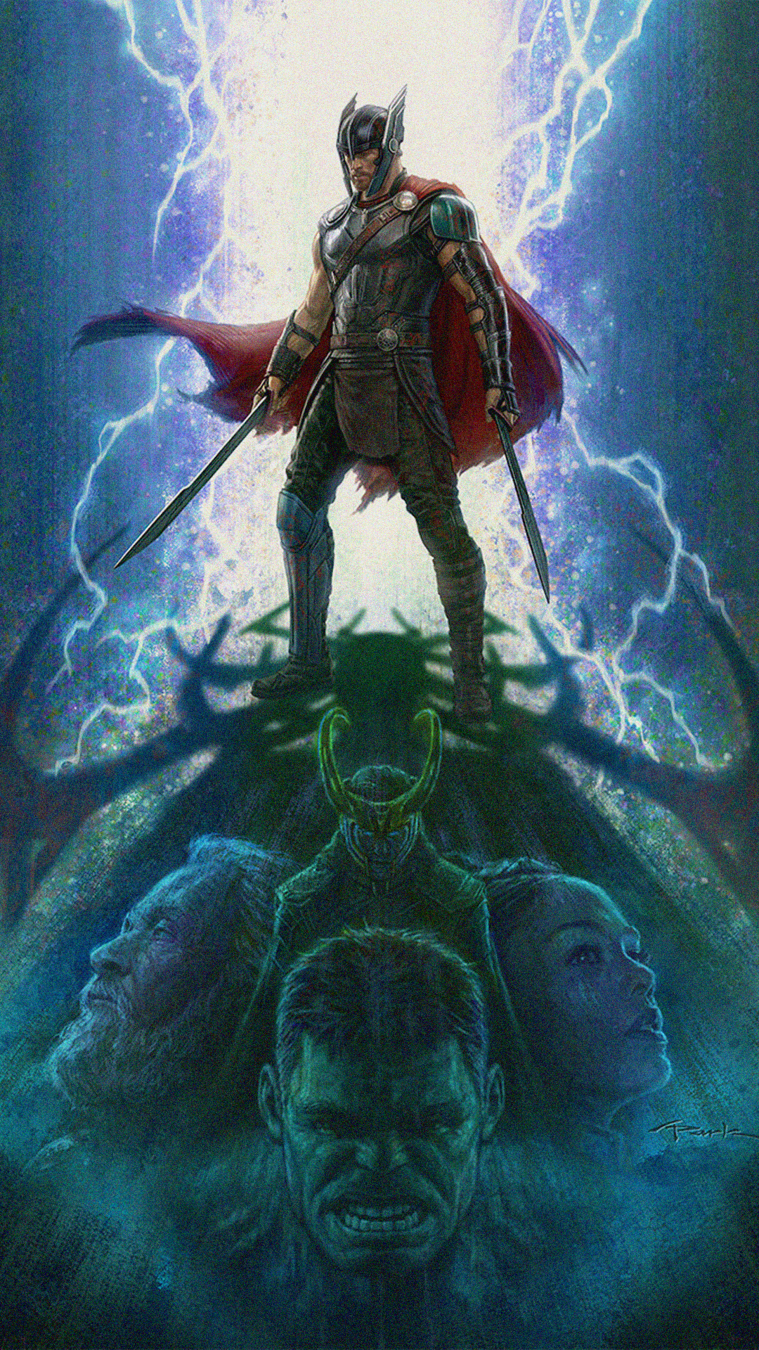 Thor phone wallpapers