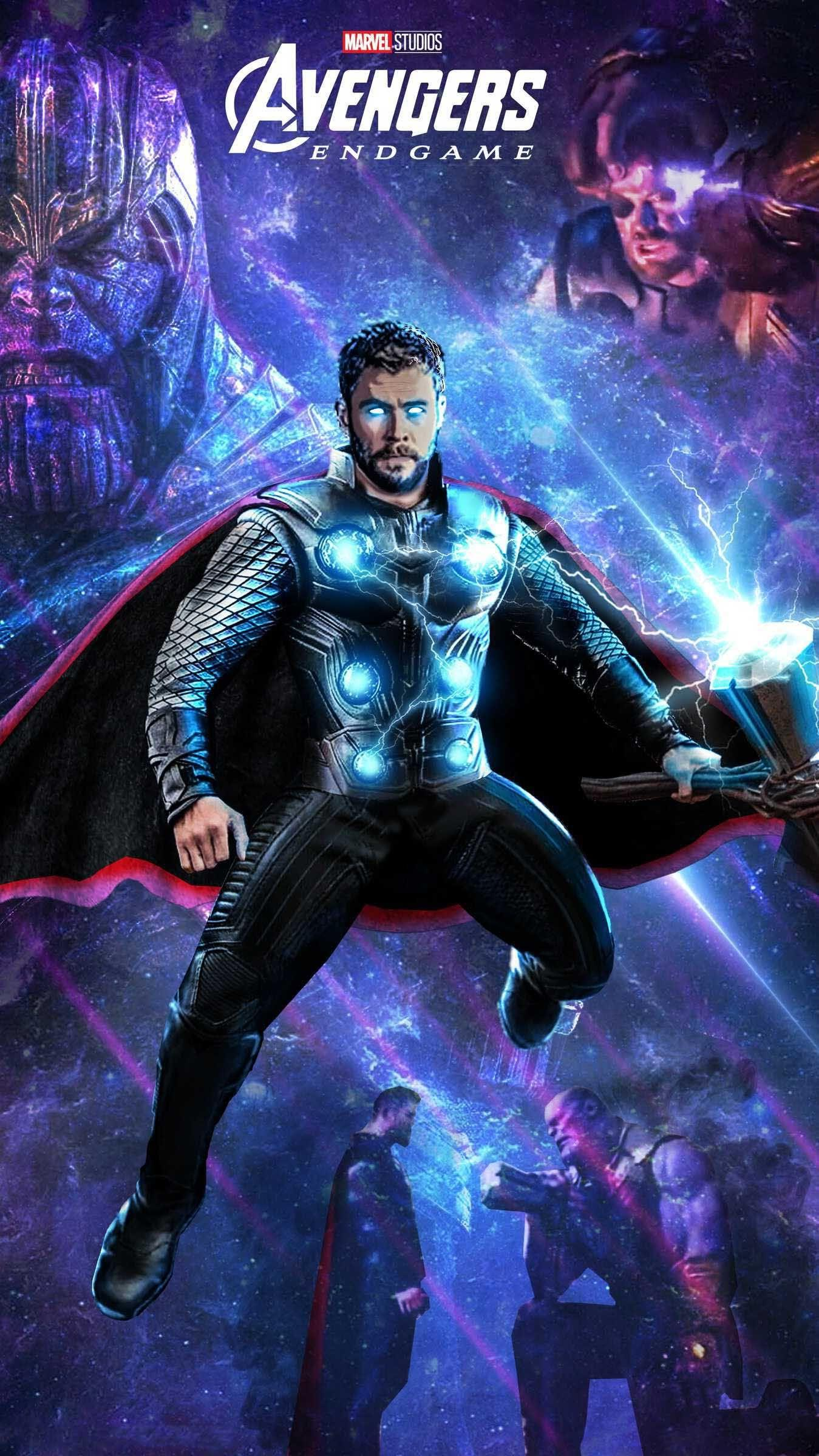 Download Free Thor Avengers EndGame HD Mobile Wallpapers for
