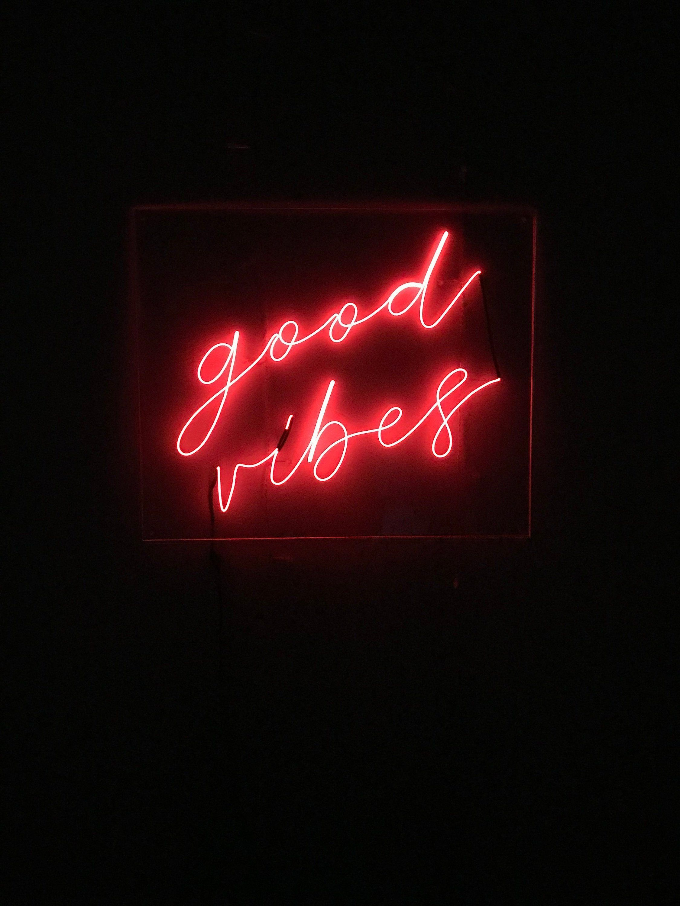 Red Aesthetic Neon Wallpapers